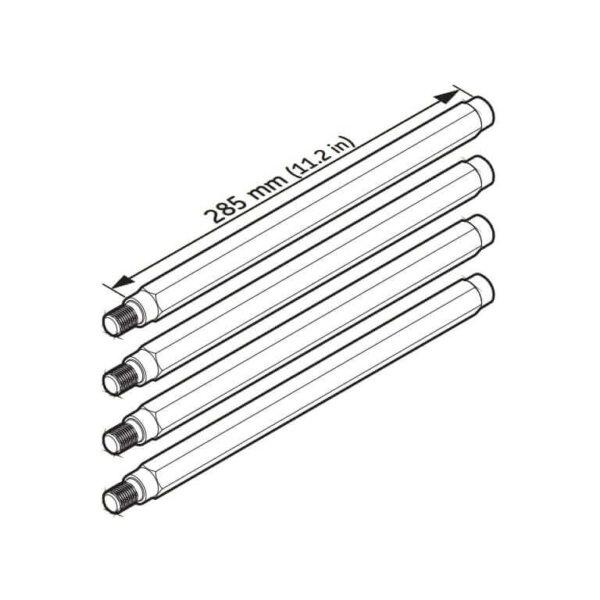 Удлинительные стержни TMBS 100E-4 (SKF)