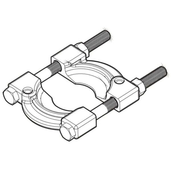 Хомут с болтами и гайками TMBS 100E-5 (SKF)