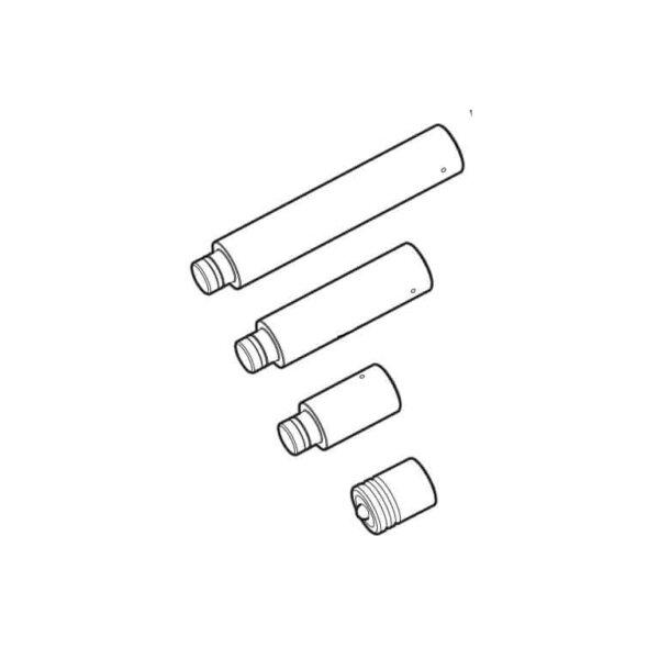 Набор удлиняющих насадок и наконечник TMHS 8T (SKF)