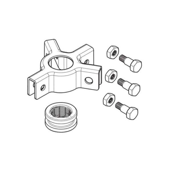 Основание с четырьмя захватами, болтами и гайками для TMHP 10E и TMHC 110E (SKF)